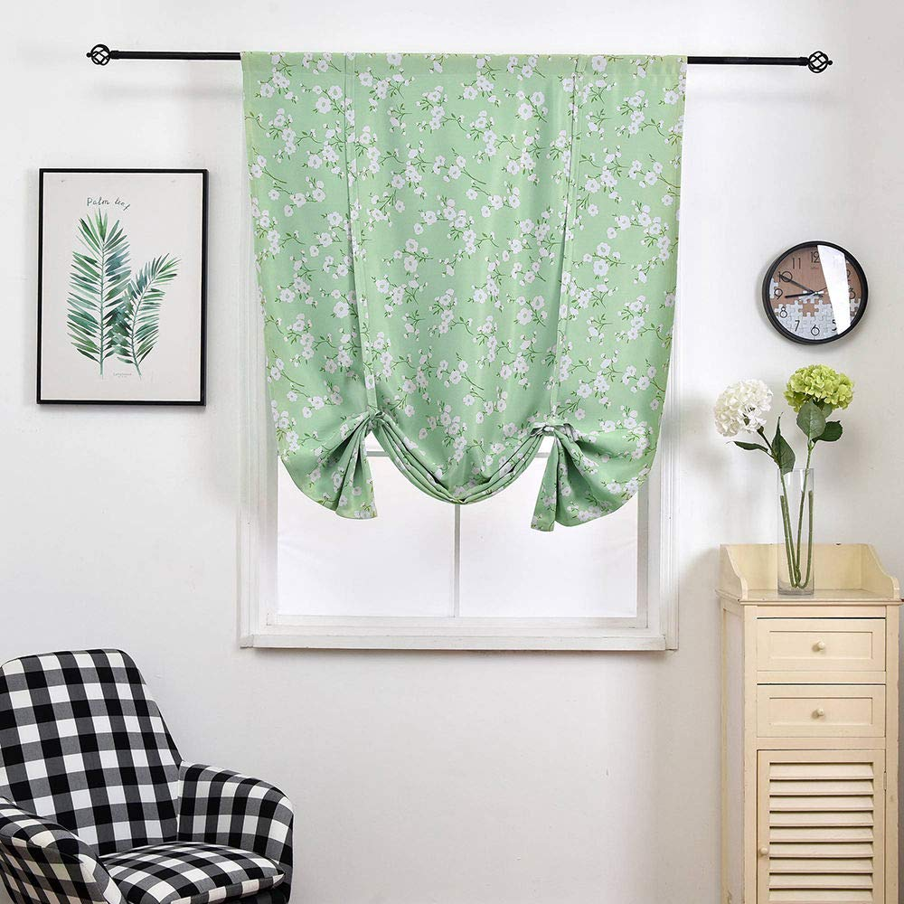 Amazon.com: HomeyHo Flower Curtains for Girls Bedroom Rod Pocket Floral Curtains Room Darkening Curtains for Kids Bedroom Boy Thermal Curtains Room ...