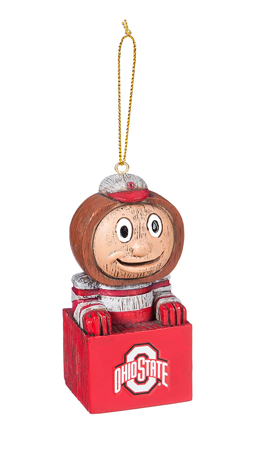 Team Sports America Ohio State Buckeyes Team Mascot Ornament
