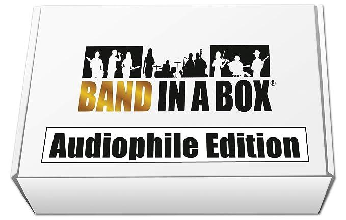 Amazon com: Band-in-a-Box 2019 Audiophile Edition [Windows