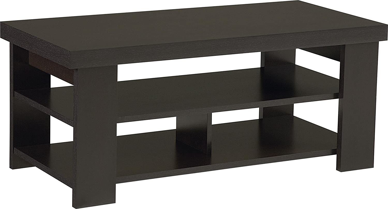 Amazoncom Ameriwood Home Jensen Coffee Table Espresso Kitchen