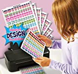 Digi-nail Studio Party Pack.  Nail Art Wraps with