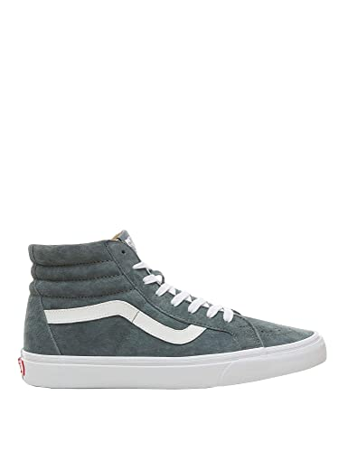 4db8907701 Image Unavailable. Image not available for. Color  Vans Unisex Sk8-Hi  Reissue Suede High Top Sneakers Grey ...