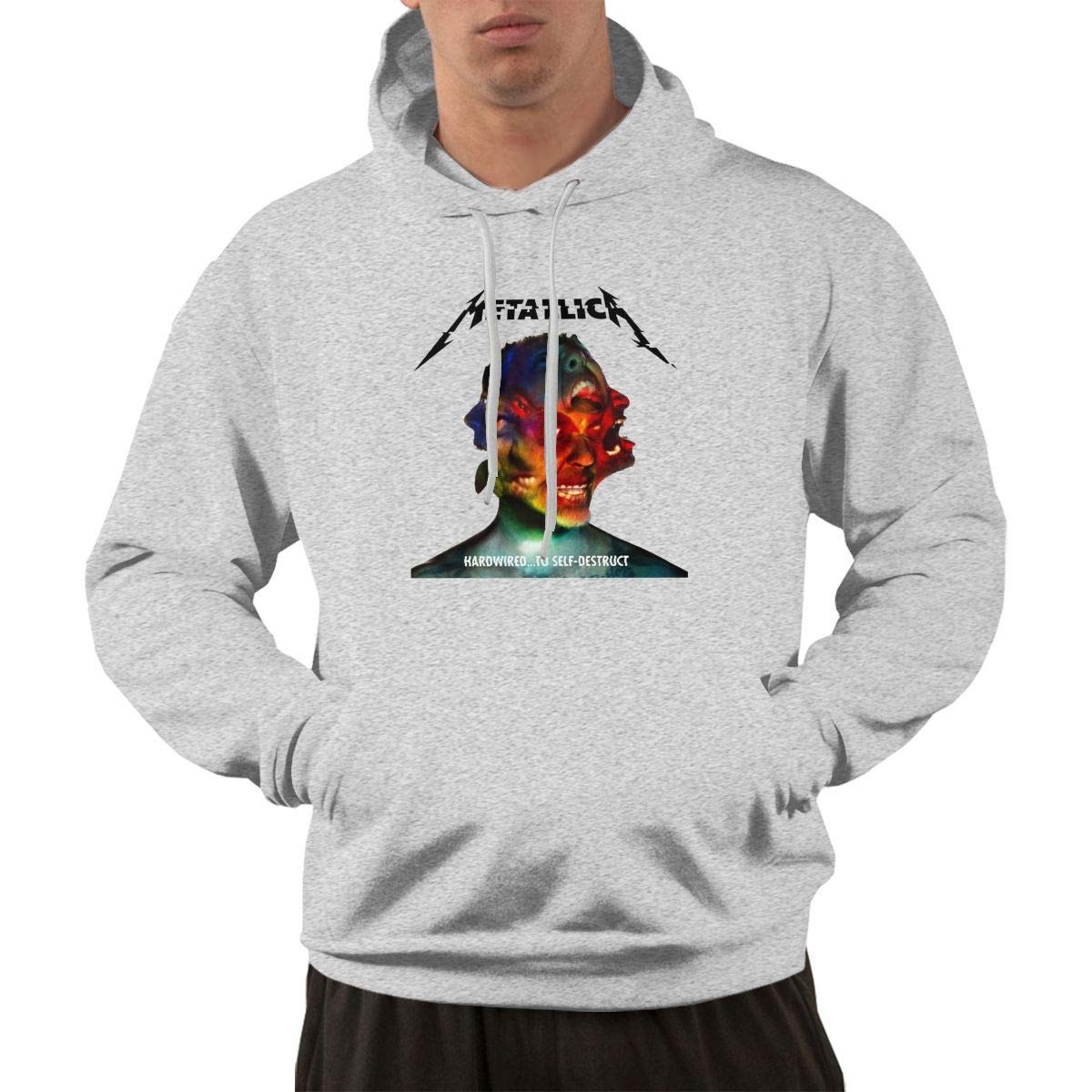 Aqlin Lewig Metallica Hardwired To Selfdestruct S Hooded S Pullovers Shirts