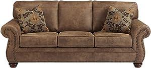 Signature Design by Ashley Larkinhurst Contemporary Faux Leather Sleeper Sofa