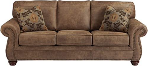 Signature Design Leather Sofa