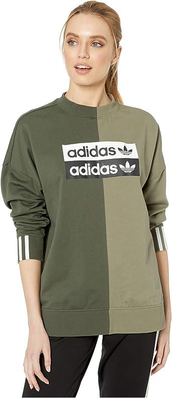 Búho mareado Progreso  adidas Originals Women's Sweatshirt at Amazon Women's Clothing store