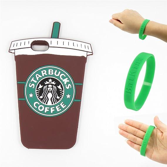 new product 961de f5e36 Amazon.com: 5S case,iPhone 5S Case,iPhone 5S Starbucks Silicone Case ...