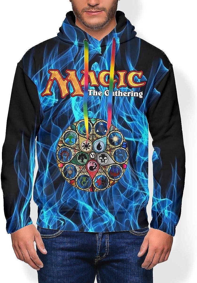 Chenyanga Mens Fashion Magic The Gathering Sweatshirt 3D Full Print Hoodie