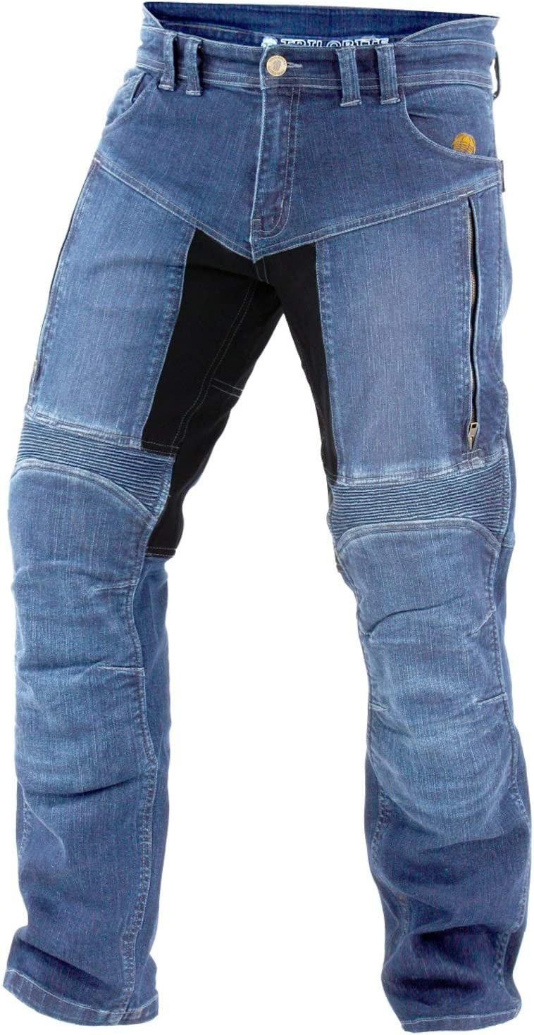30 Trilobite Motorrad Herren Jeans Parado blau Gr/ö/ße