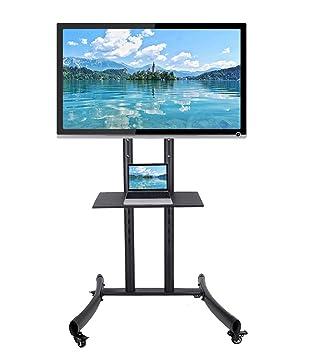 Pinty Soporte de TV móvil para panel de pantalla plana El plasma de LCD LED con