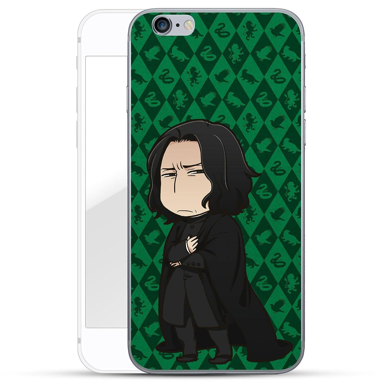 Premium Case f/ür Dein Smartphone| Snape gr/ün Finoo iPhone 6 // 6S Hard Case Handy-H/ülle Harry Potter Motiv d/ünne sto/ßfeste Schutz-Cover Tasche mit lizensiertem Muster