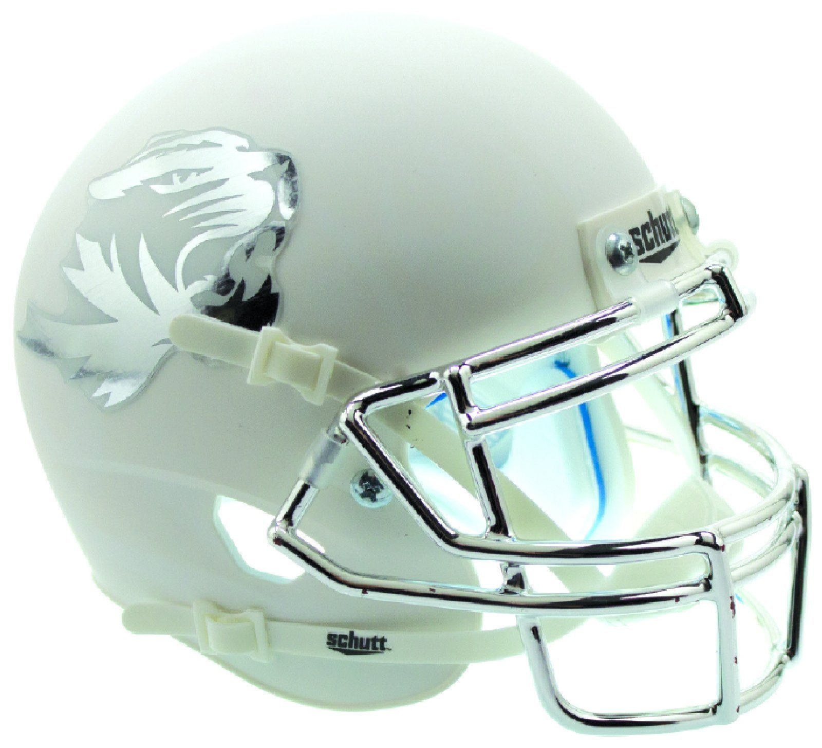 Schutt NCAA Missouri Tigers On-Field Authentic XP Football Helmet, Matte White Alt. 6 by Schutt (Image #1)