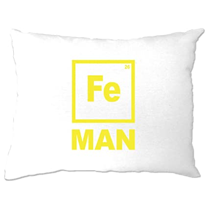 Amazon Tim And Ted Funny Nerdy Pillow Case Fe Man Iron Chemical