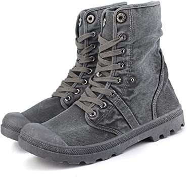 Dermanony Womens Winter Plus Velvet Ankle Boots Warm Casual Solid Round Toe Shoes Lace Up Flat Sneakers Combat Boots