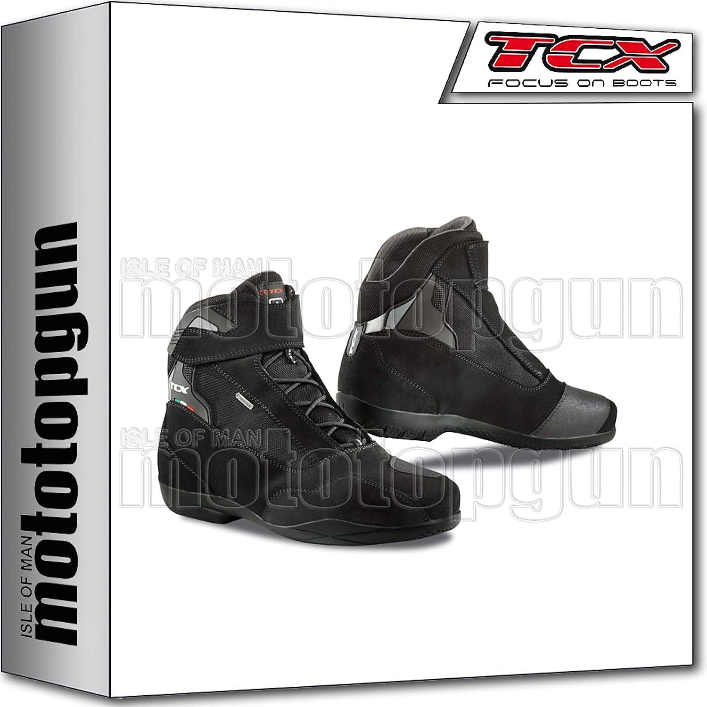 TCX Scarpe Stivali Moto 7115G Jupiter 4 Gore-Tex Nero tg 47//12,5