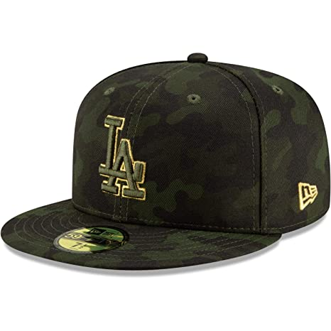 hot sale online e0192 0936c New Era Los Angeles Dodgers 2019 MLB Armed Forces Day On-Field 59FIFTY  Fitted Hat