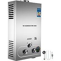 Cueffer LPG boiler voor water, gas-liquat, 36 kW, automatische boiler, LCD-display, direct klaar voor gebruik propaan…