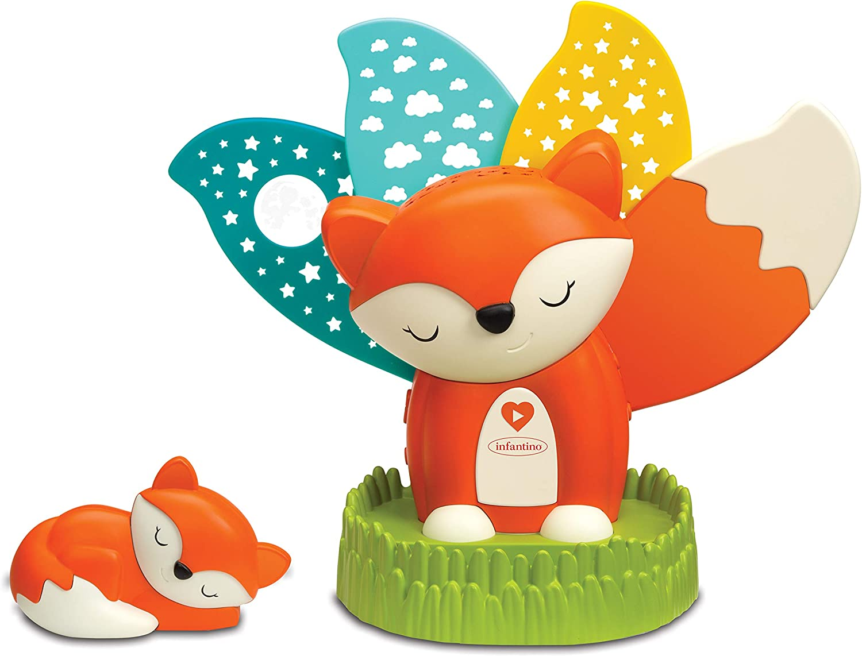 202002 Orange Infantino Veilleuse et Projecteur Renard