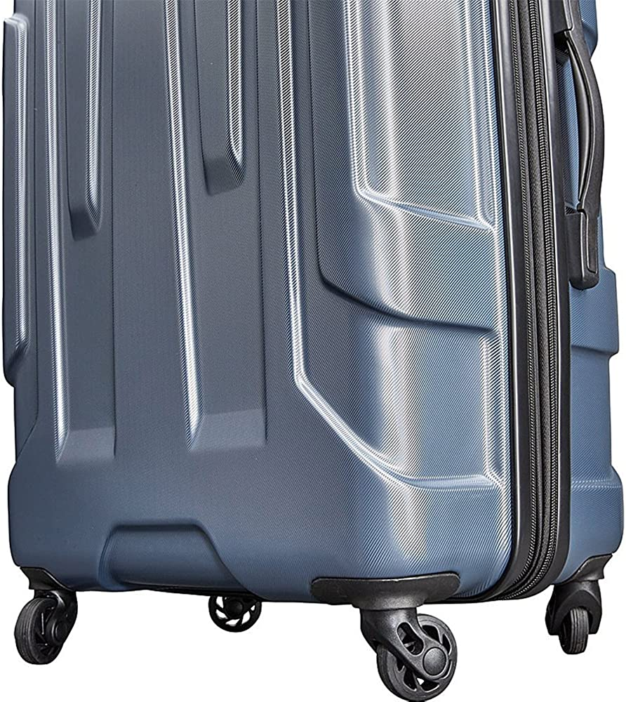 Samsonite Centric Hardside Carry-On Luggage with Deco Gear Ultimate 10Pc Luggage Accessory Kit
