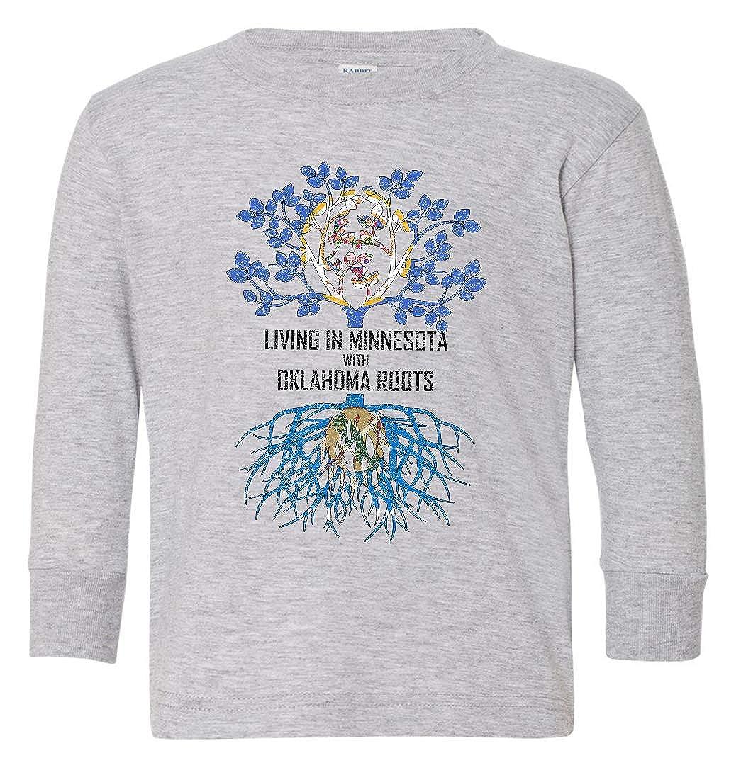 Tenacitee Babys Living in Minnesota with Oklahoma Roots Shirt