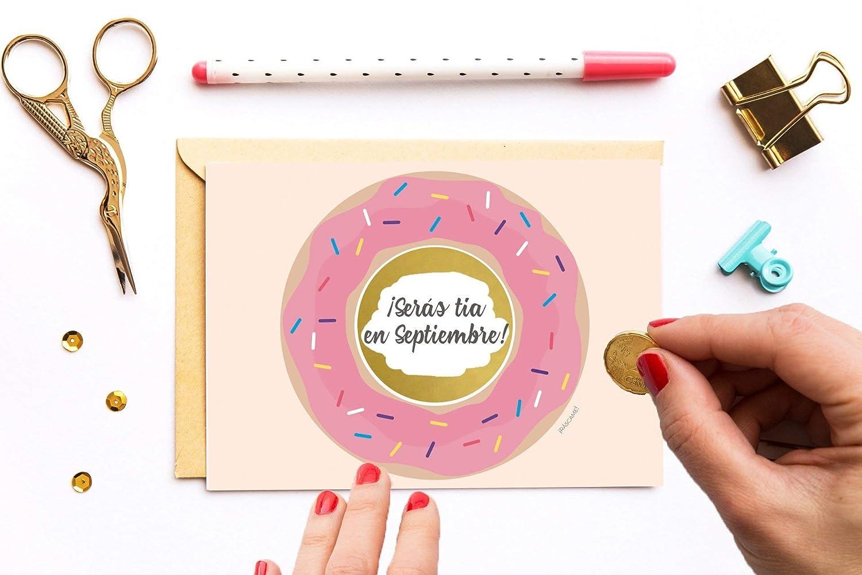 Tarjeta de Felicitación Vale de Cumpleaños Tarjeta rasca mensaje sorpresa