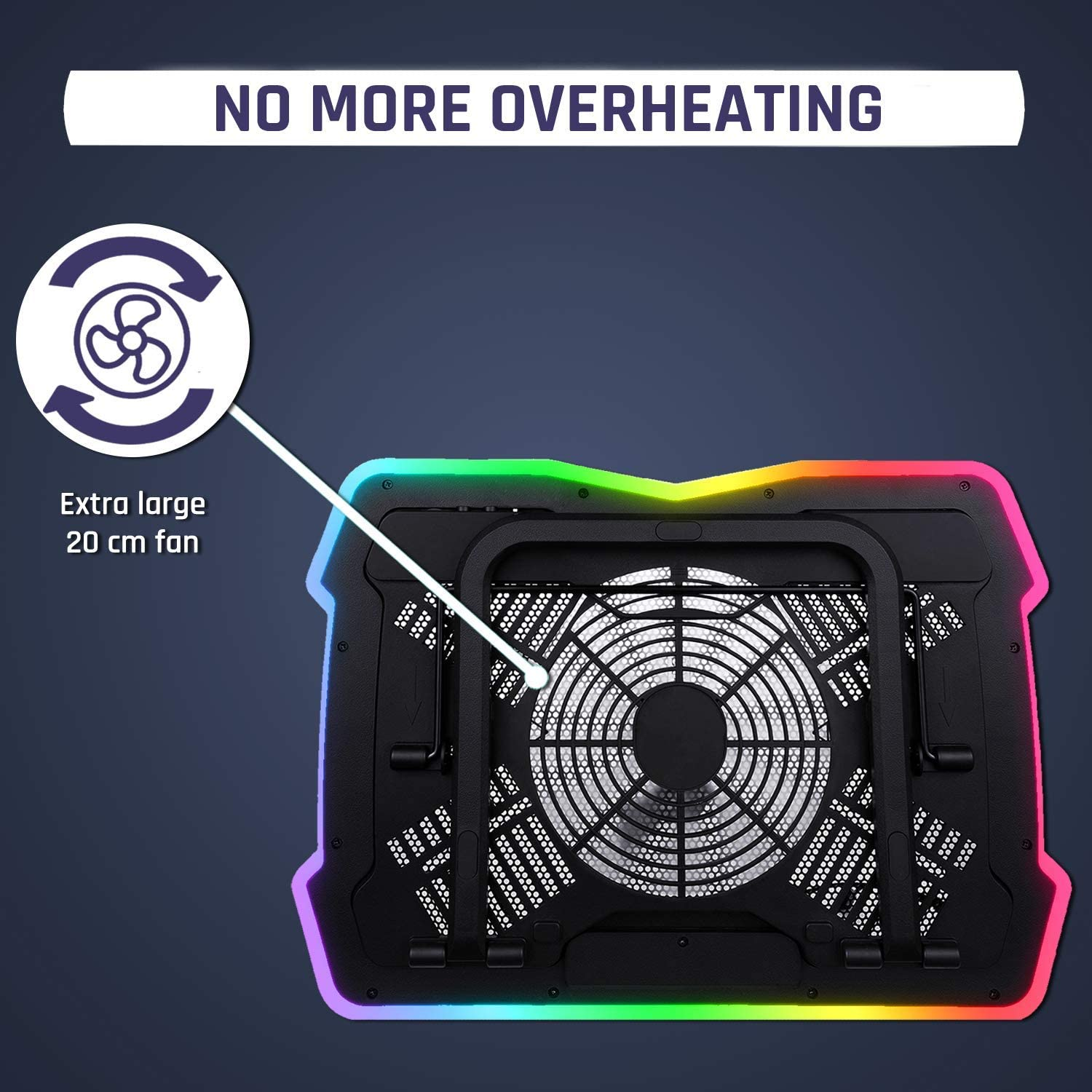 Get A Cooling Pad To Get More Airflow