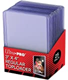 Ultra Pro Toploaders 3x4 Clear Regular ct25 Card Game