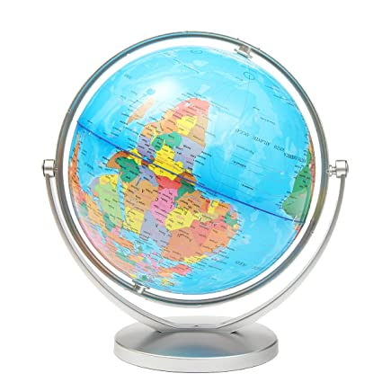 World globe earth ocean atlas map with rotating stand geography world globe earth ocean atlas map with rotating stand geography educational gumiabroncs Image collections