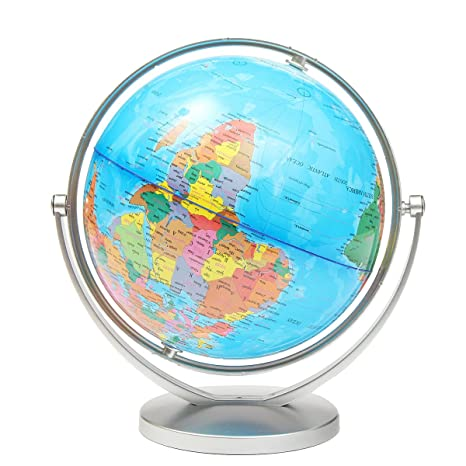 World globe earth ocean atlas map with rotating stand geography world globe earth ocean atlas map with rotating stand geography educational gumiabroncs Images