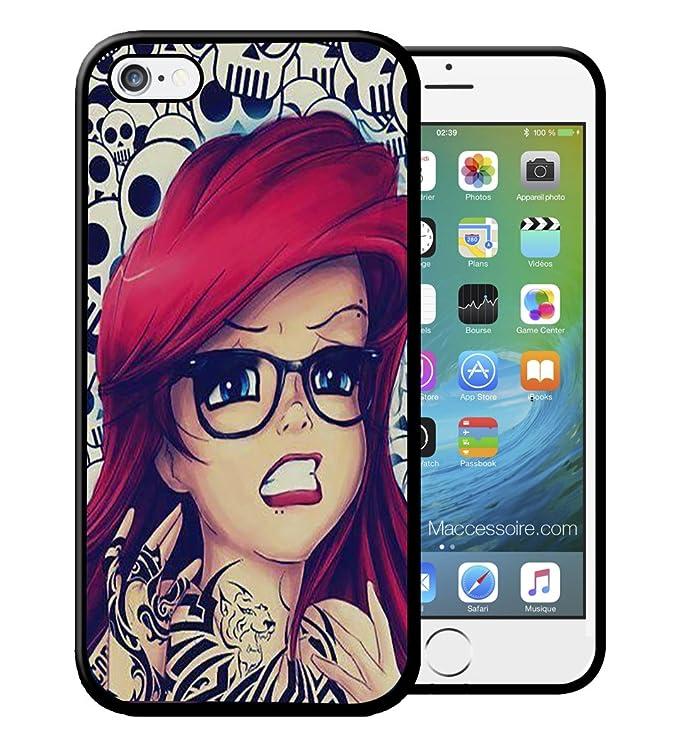 Carcasa para iPhone y Samsung Ariel la Sirenita Disney Swag Tattoo ...