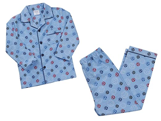 c1597ca1fe032 Minikidz Infant Kids Girls Boys Flannel Buttoned Pyjamas Pj Set Warm Ages  2-6: Amazon.co.uk: Clothing