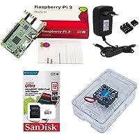 Kit Básico Raspberry Pi 3 Pi3-32gb Case Premium Com Cooler