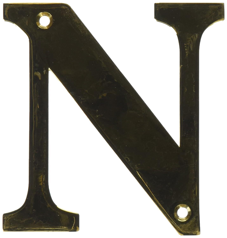 Deltana RL4N-CR003 4-Inch Residential Letter N House Board