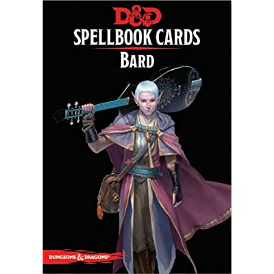 Dungeons & Dragons - Spellbook Cards: Bard (128 cards): Toys & Games