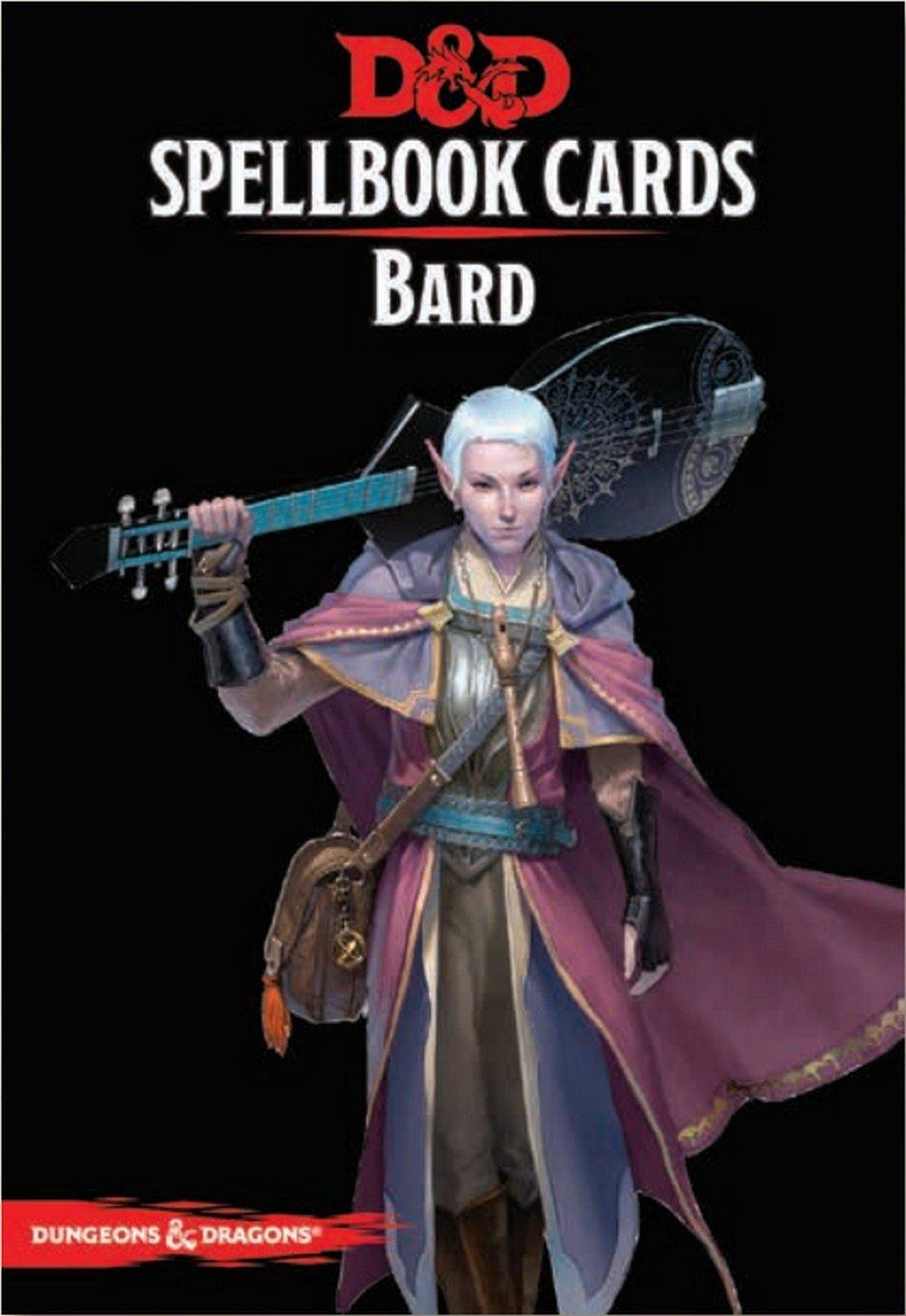 73918 D&D: Spellbook Cards: Bard Deck
