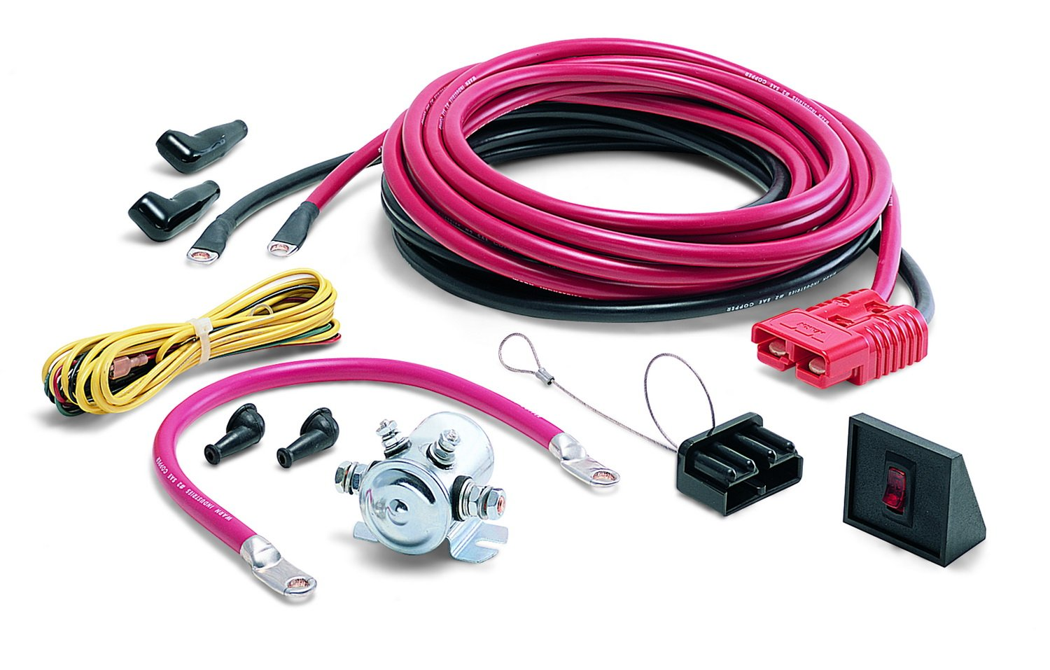 Warn 32966 24 Quick Connect Power Cable Automotive 10 000 Lb Winch Wiring Diagram