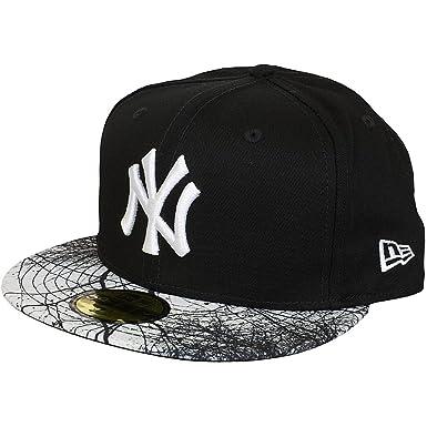 New Era Mujeres Gorras / Gorra plana MLB Woodland NY Yankees ...