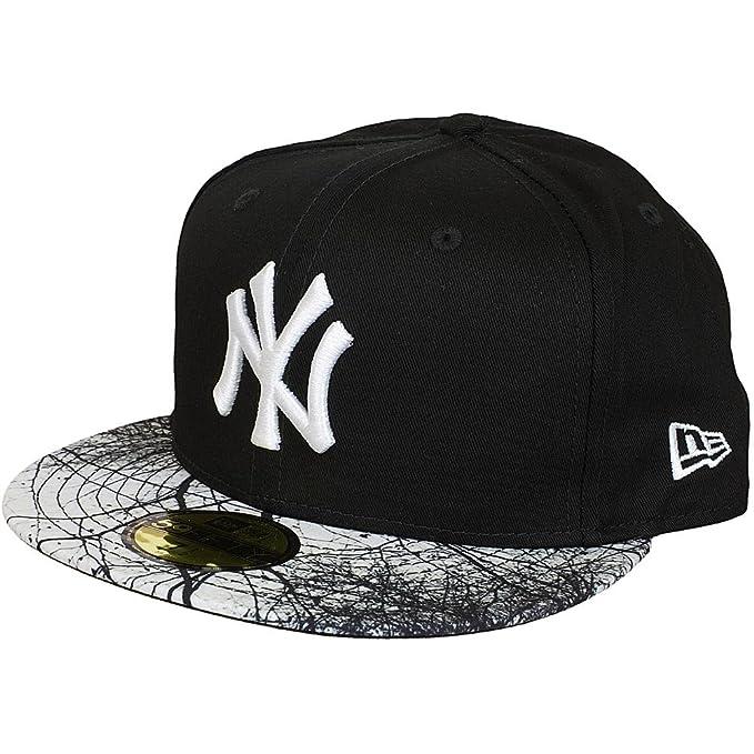 New Era Mujeres Gorras / Gorra plana MLB Woodland NY Yankees: Amazon.es: Ropa y accesorios