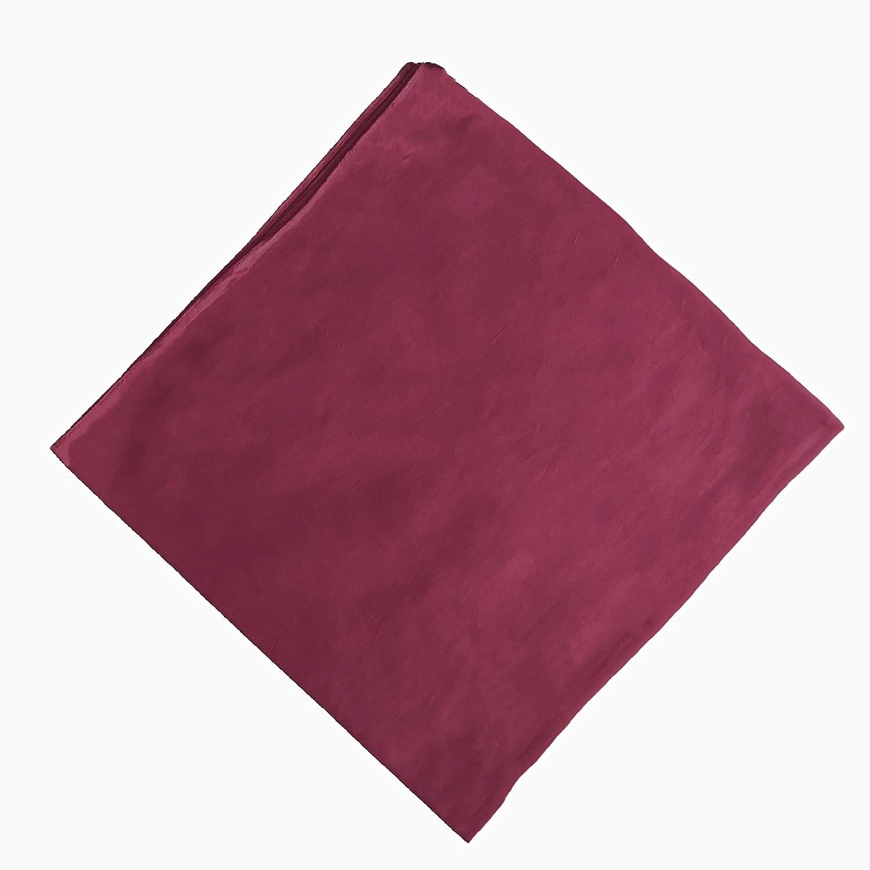 ledermodefashion Bandana Einfarbig Tuch einfarbige Kopftuch Halstuch viele Uni Farben 100/% Baumwolle
