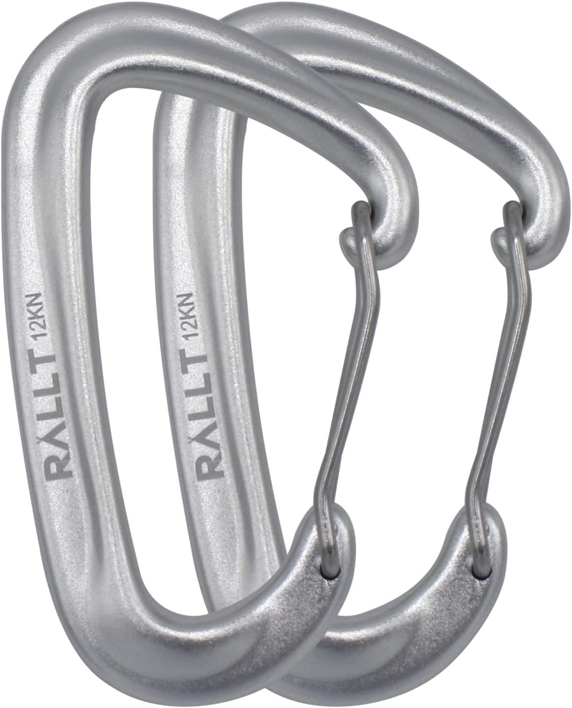 Lot 12 Carabiner Spring Belt Clip Snap Key Chain Aluminum Alloy For Camping