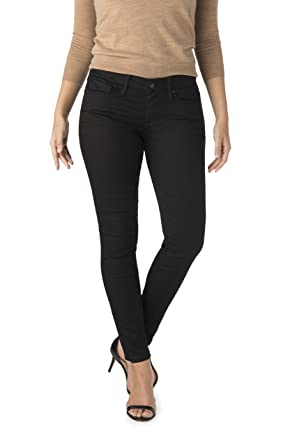 9afbb5c139059 Signature by Levi Strauss & Co. Women's Low Rise Jeggings with Super Stretch  Denim (