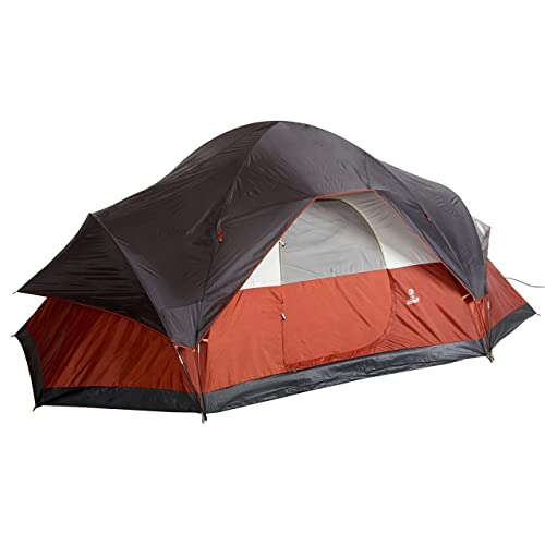 Coleman 8-Person Tent For Camping | Red Canyon Car Camping Tent