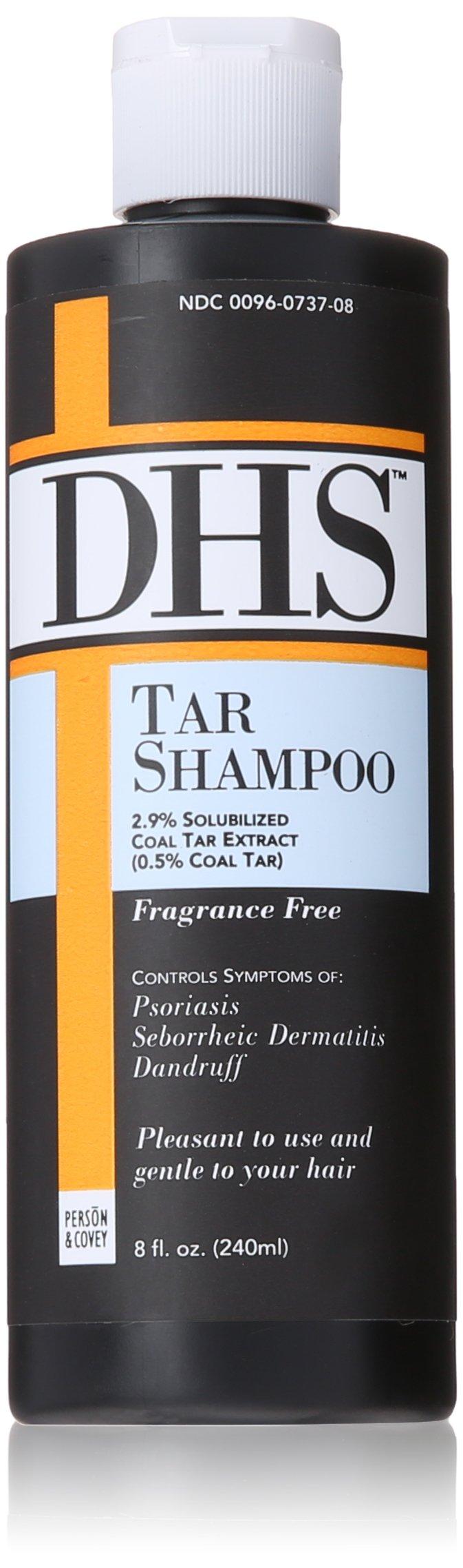 DHS Tar Shampoo, 8 Fluid Ounce by DHS