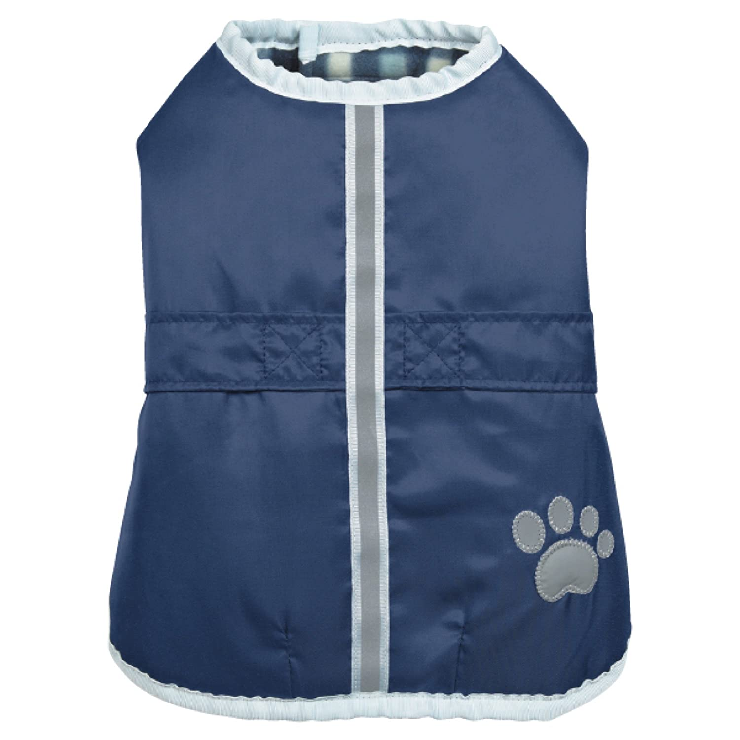 Navy X-Large Navy X-Large Zack & Zoey Thermapet Nor'easter Coat, Navy, X-Large