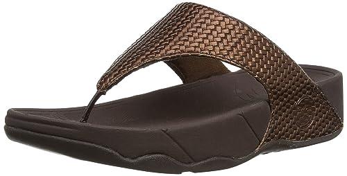 93fb0c681c9983 FitFlop Women s Lulu Weave Flip Flop