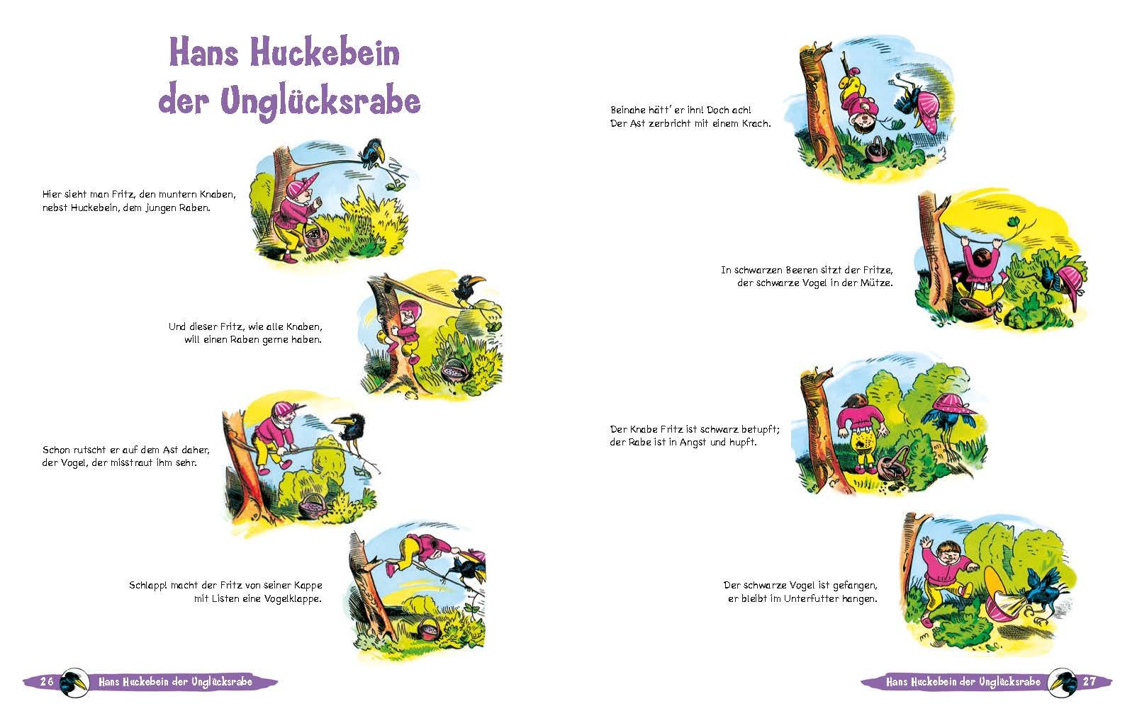 Wilhelm Busch Geschichten für Kinder: Amazon.de: Wilhelm Busch: Bücher