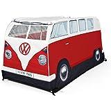 Retro VW Bus Camper Kinderzelt Rot