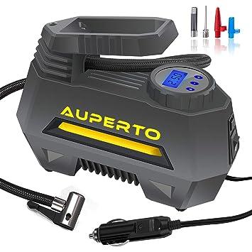 Namotu - Compresor de aire para coche, alimentación 12 V, bomba de inflado de