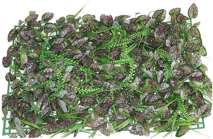 Xiaolin Coberturas Paneles Artificiales Verdor Paneles Cercados Verdor Paredes Jardín Pantalla de Privacidad Decoración para el hogar (Color : 05): Amazon.es: Hogar