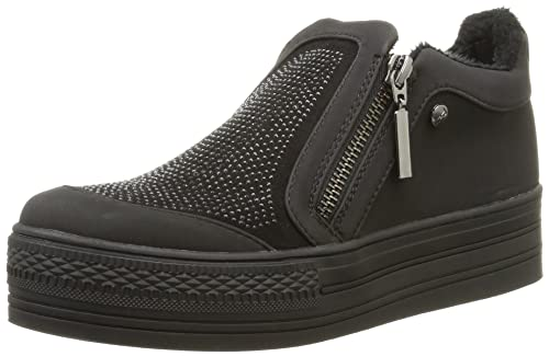 - Chaussures Elle De Palais Femmes, Noir (noir) Taille 38
